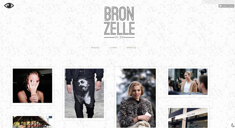 Fashion, Monochrome, Blog
