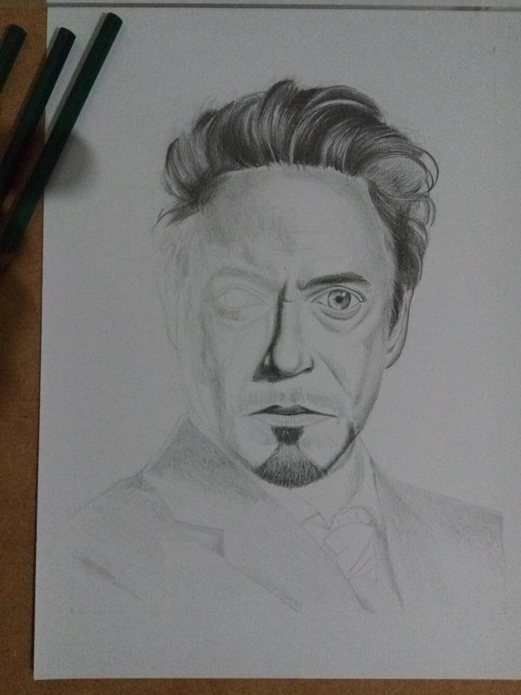 Ivan Nardes Dreamquest Retrato Tony Stark