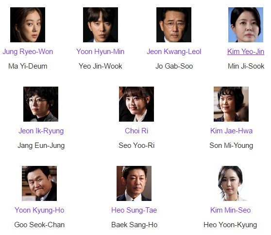 Daftar Pemain Drama Witch's Court Episode 1-Tamat