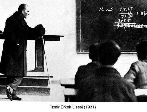 Atatürk İzmir Erkek Lisesi 1931 Fotoğraf