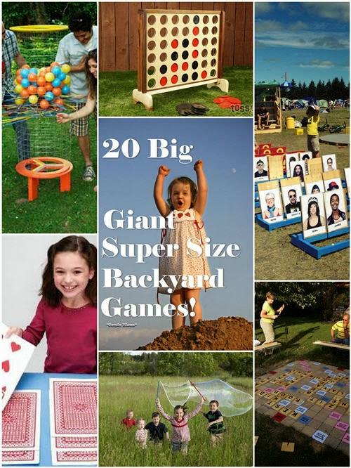 Condo Blues: 20 Super Fun Super Sized Outdoor Games