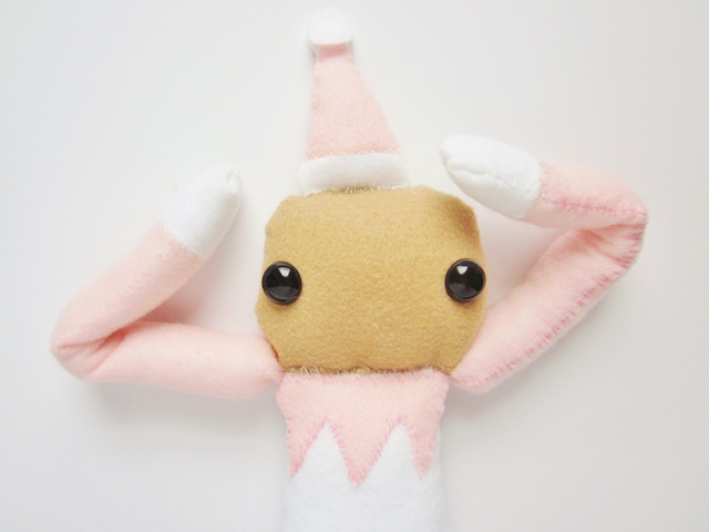 Elf On The Shelf Felt Plush DIY