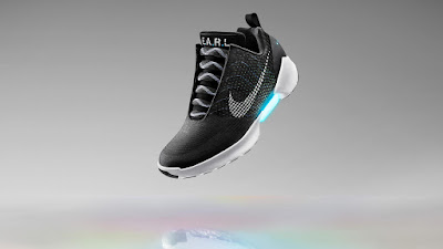 Automatic Self Lacing Shoe