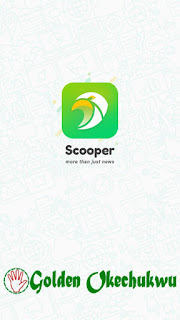 Scooper News App Homepage
