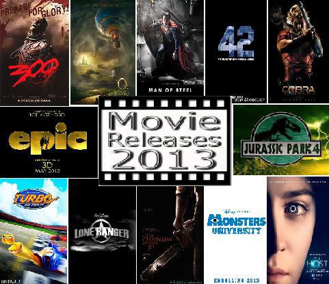 Warung Santai: Daftar Rilis Film Bioskop Tahun 2013