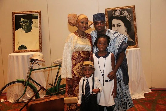 kunle afolayan family