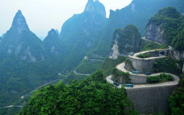 """Amazingexplore of The overall """"Avatar Experience"""" in trekking Zhangjiajie & Tianmen Mountain"""