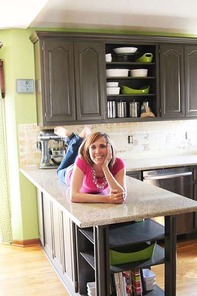 Mandy of Sugar Bee Crafts Tells All about her Kitchen Remodel #kitchen #remodel #diy