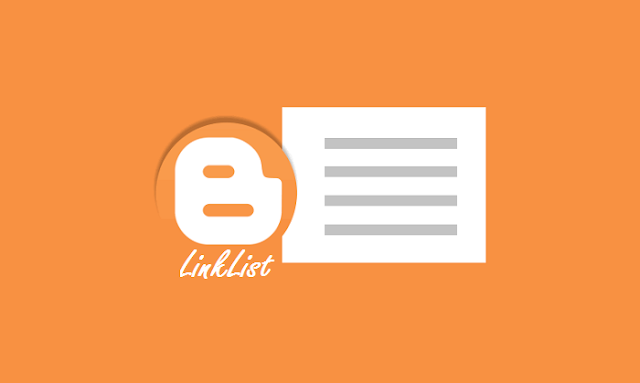 Blogger LinkList widget