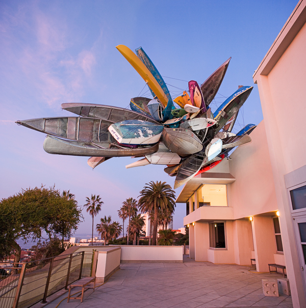 One of San Diego's many art installation at the La Jolla Museum of Contemporary Art. Photo: Pablo Mason