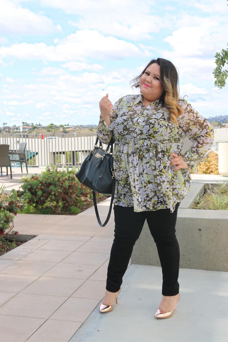 Blogger Mexicana gordita nos enseña como vestir si eres gordita