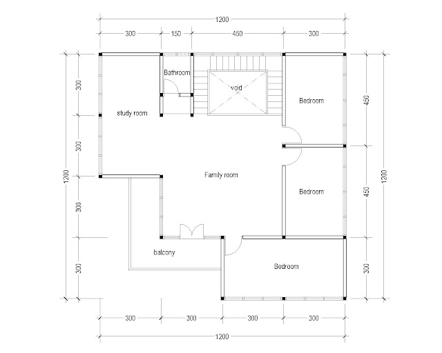2nd Floor Plan for Plan c-06