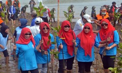 Menanam Mangrove Guna Mewujudkan Kawasan Ekosistem Esensial