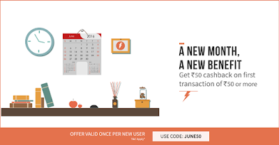 FreeCharge June Offer