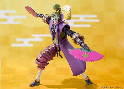 Batman Ninja SH Figuarts Action Figures by Bandai Tamashii Nations