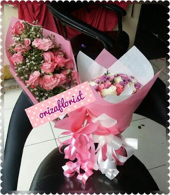 harga bunga hand bouquet surabaya, jual hand bouquet surabaya