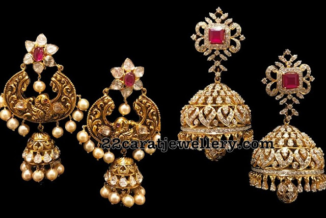 55grams Heavy Jhumkas