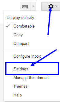 reach to gmail signature settings