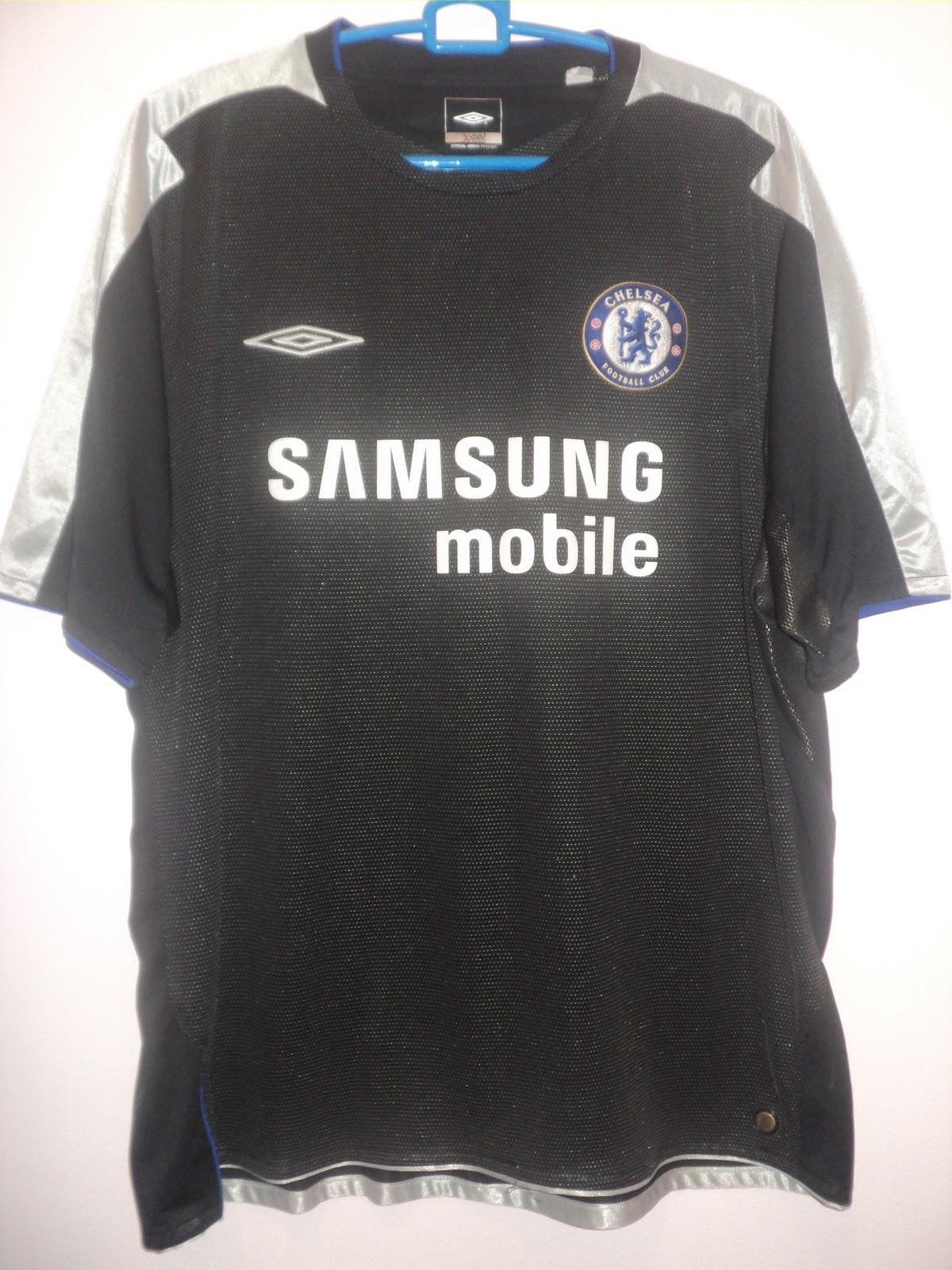 best service afc2c 83c25 Jeff Karim's Blog - JAS.MY: 2005-06 Chelsea Third Shirt