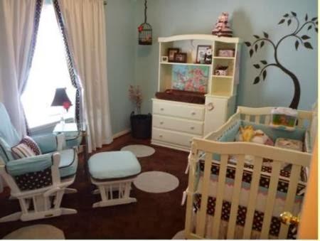 C mo decorar el cuarto de un beb dormitorios colores y estilos - Como decorar un dormitorio de bebe ...
