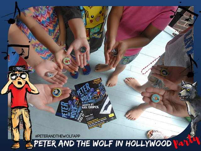 Party Like Peter and the Wolf in Hollywood! #PeterandtheWolfApp