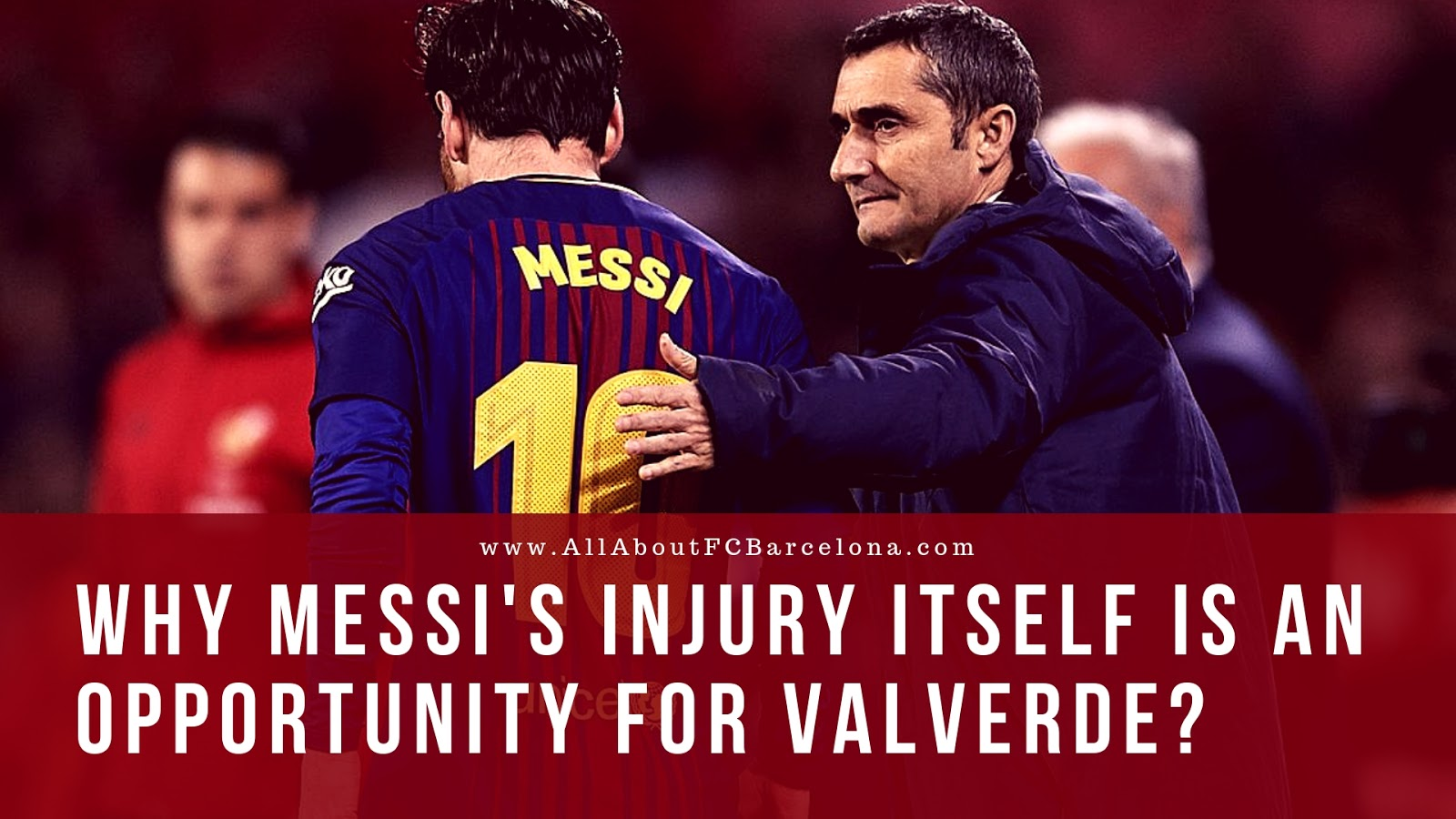 How Messi's Injury can turn out to be the Best Opportunity?