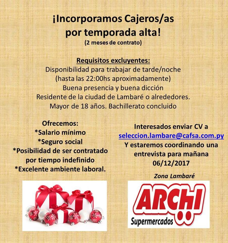 Bolsa de trabajo paraguay empleos cajeros for Busqueda de cajeros