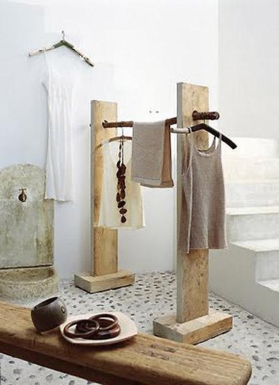 decoraci n f cil percheros abiertos para colgar la ropa. Black Bedroom Furniture Sets. Home Design Ideas