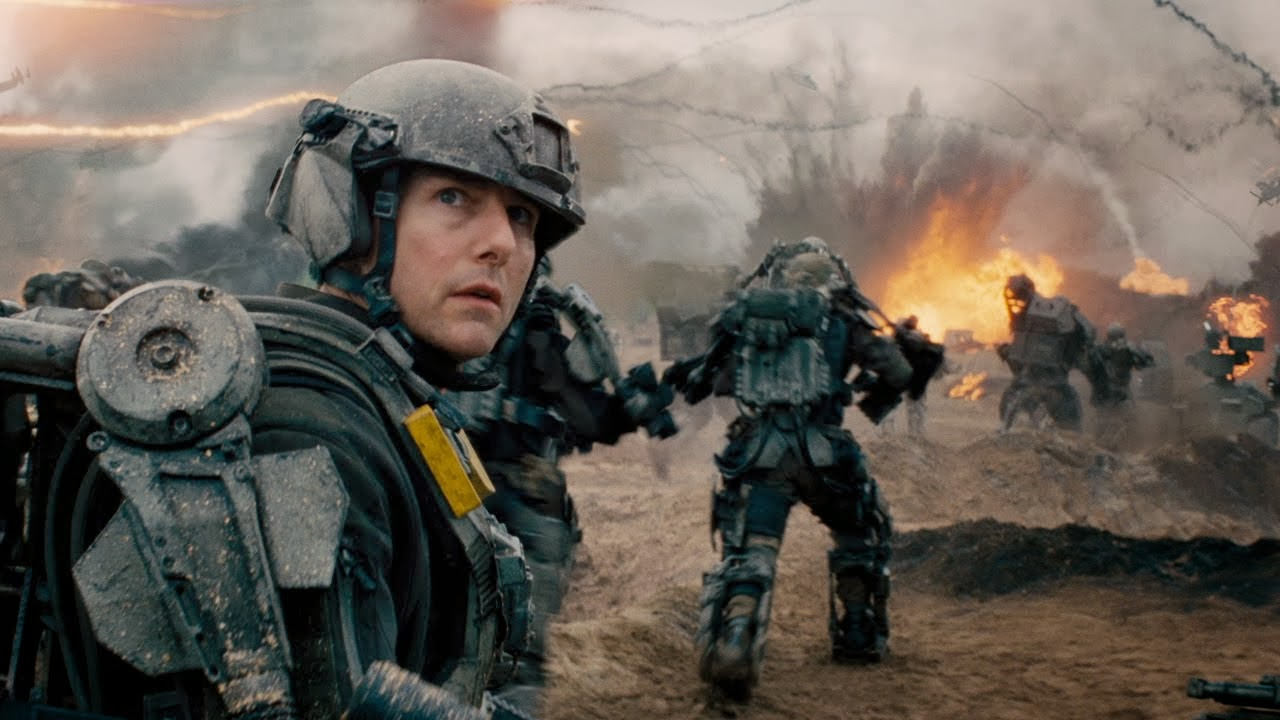 Tom Cruise Emily Blunt Doug Liman Edge of Tomorrow All You Need Is Kill