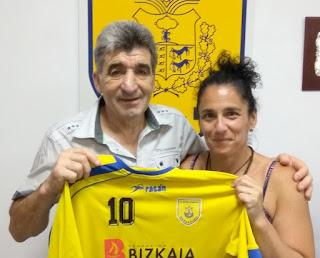 Larraitz Fica renueva como fisio del CB Baakaldo