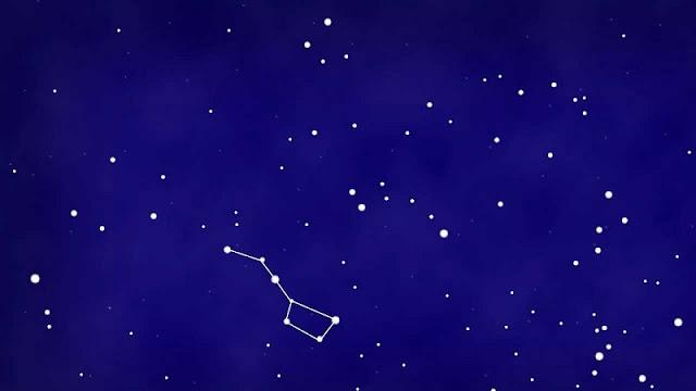 Navigate the night sky using smartphone