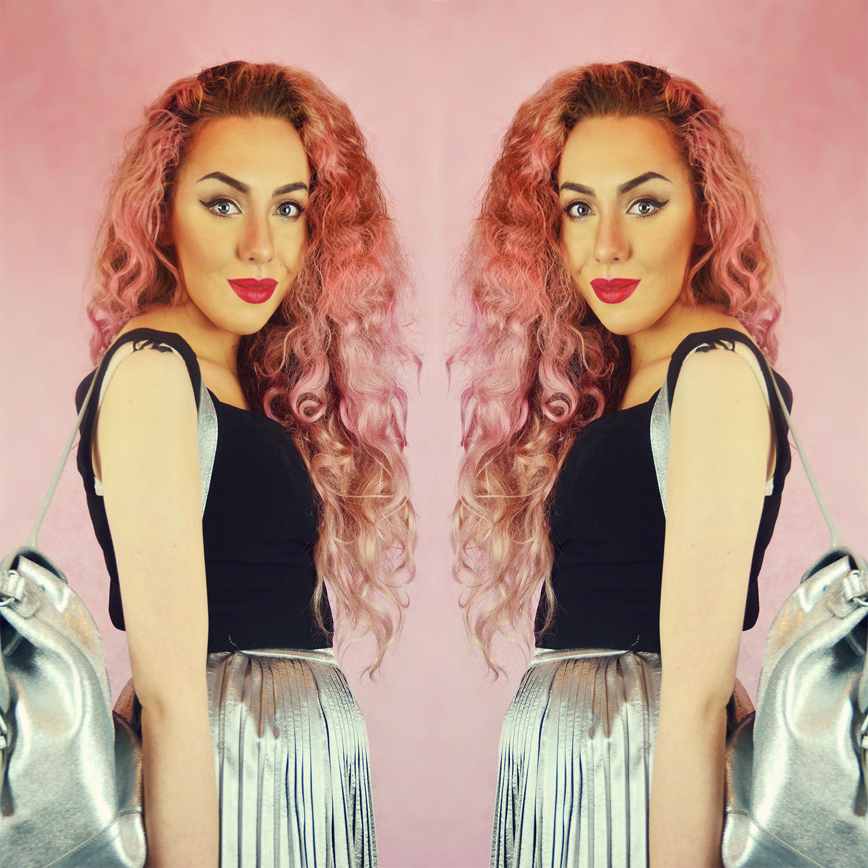 Dyed Pastel Hair Mermaid