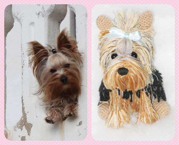 como hacer 4 perritos yorkshire a crochet