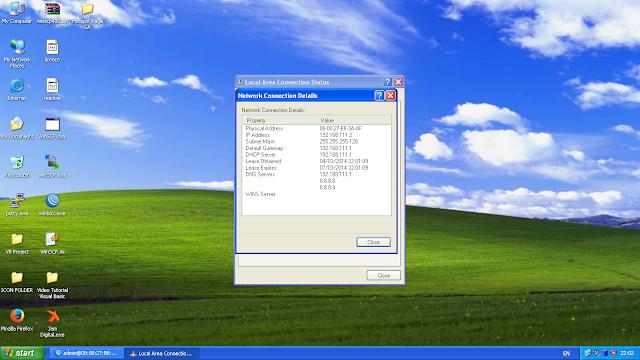 Konfigurasi DHCP Server Pada Mikrotik
