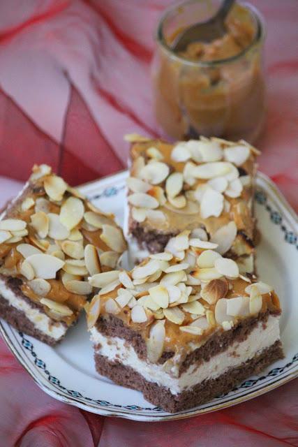 ciasto, masa krówkowa