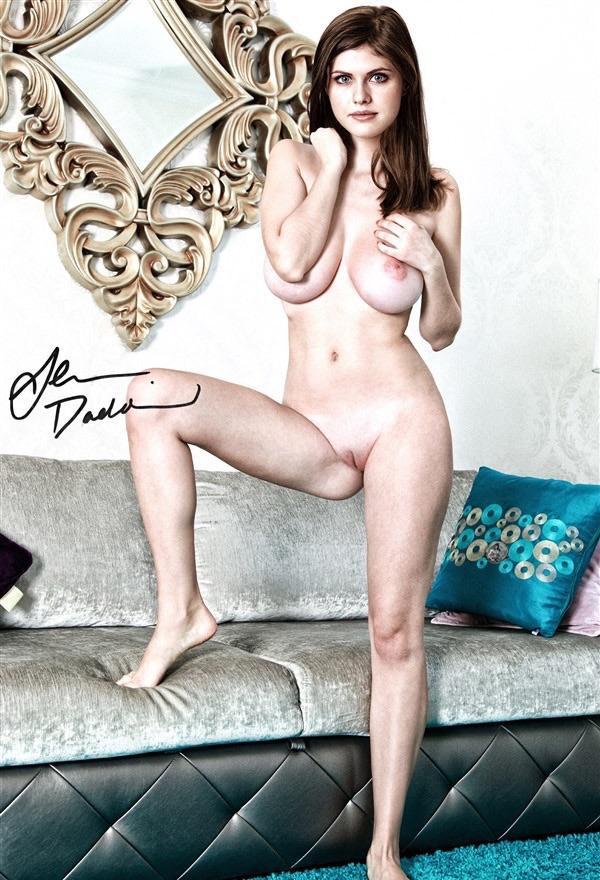 Alexandra Daddario Fully Nude