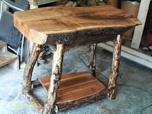 Handmade Rustic & Log Furniture June 2012