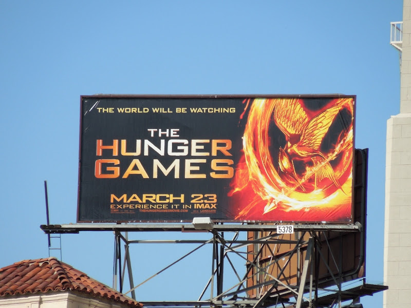 The Hunger Games Mockingjay billboard