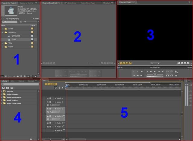 Giáo trình hướng dẫn sử dụng phần mềm dựng phim Adobe Premiere cho người mới full tiếng Anh và tiếng Việt