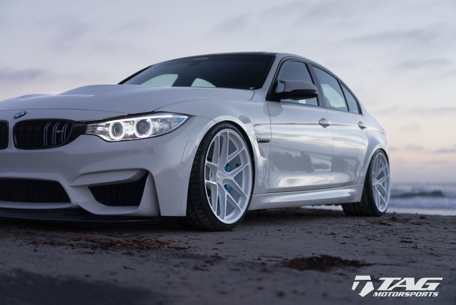 All-White BMW M3 Is A Unique Tuning Project | Carscoops