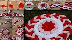 Cómo tejer un tapete muy original