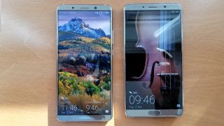 Huawei Mate10 and Huawei Mate10 pro  comparision