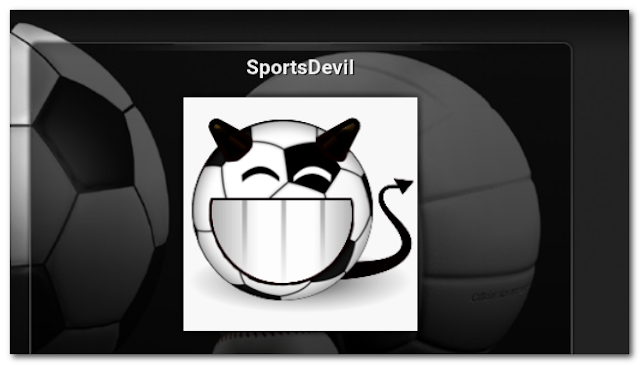 Updated SportsDevil Addon