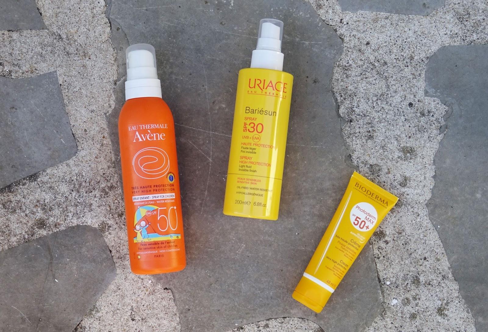 Mes essentiels de l'été 2016 soins solaires