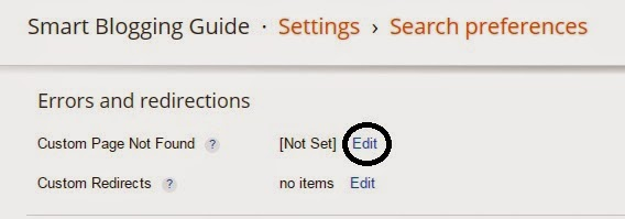 How To Redirect 404 Error In Blogger To Homepage