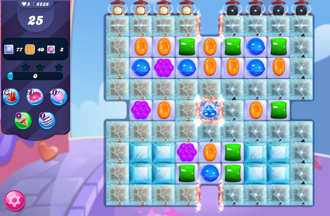 Candy Crush Saga level 5238