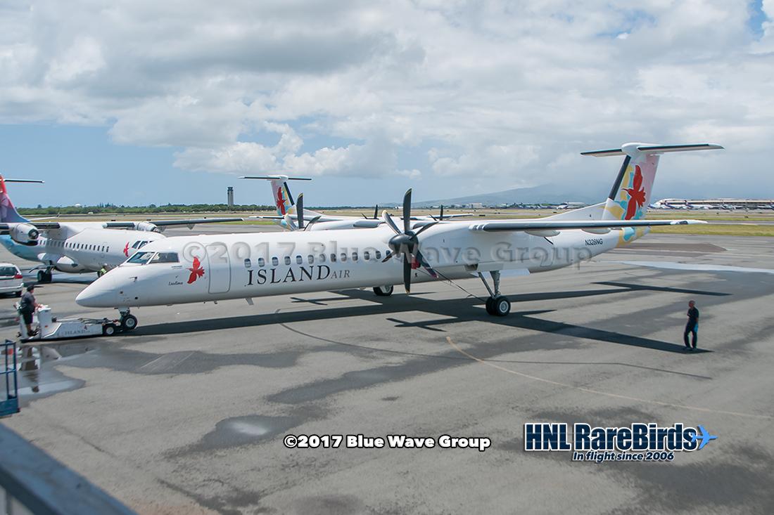 HNL RareBirds: Island Air's N328NG