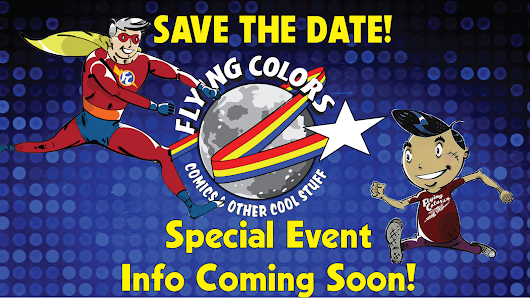 Special Events coming soon to Flying Colors!