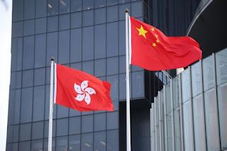 Bendera China Hongkong