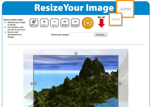 Tutorial : Tool Percuma Untuk Kecilkan Gambar